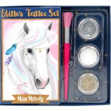 Miss Melody glitter-tatoeage-set