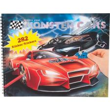 Monster Cars kleur- en stickerboek